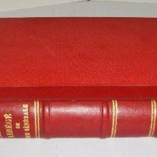 Libros antiguos: CHIMIE GENERALE. 1893. WILHELM OSTWALD.. Lote 94679635