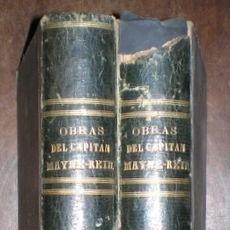 Libros antiguos: MAYNE-REID, CAPITÁN: OBRAS. BIBLIOTECA ILUSTRADA DE GASPAR Y ROIG.1870-72.2 VOLS. CON 24 TÍTULOS. Lote 94680051