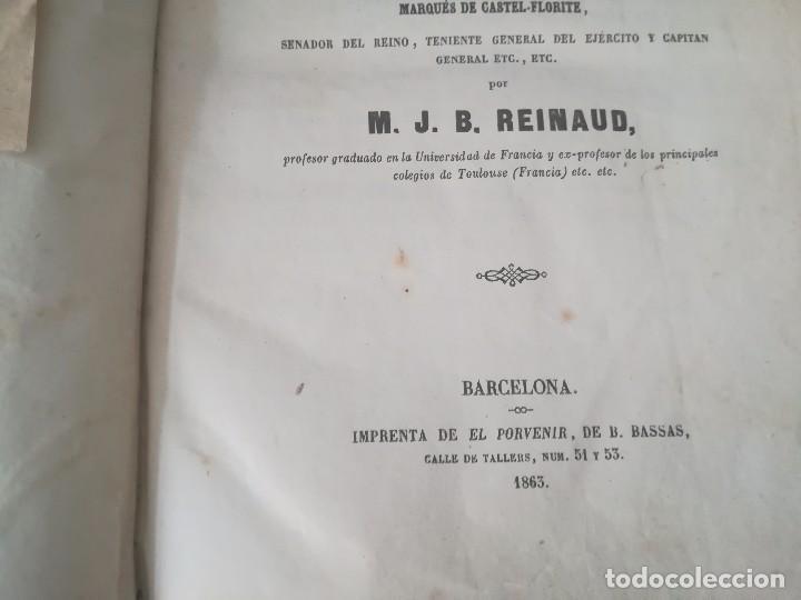 Libros antiguos: Libro método teórico-práctico dividido en 45 lecciones por M. J. B Reinaud Barcelona año 1863 - Foto 2 - 94704663