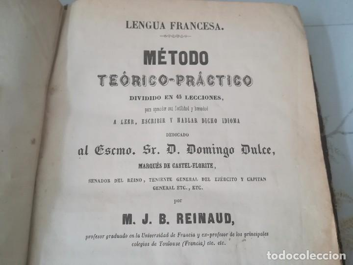 Libros antiguos: Libro método teórico-práctico dividido en 45 lecciones por M. J. B Reinaud Barcelona año 1863 - Foto 8 - 94704663