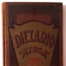 Libros antiguos: DIETARIO MYRGA DE 1940. Lote 94726831
