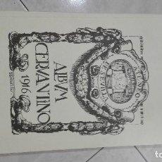 Libros antiguos: ALBUM CERVANTINO ATENEO DE SEVILLA 1916. Lote 94754863