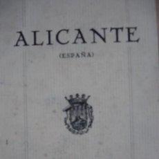 Alte Bücher - ALICANTE ESTACION INVERNAL 8ª. 30 PG FOTOS - 163892712