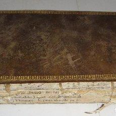 Libros antiguos: HISTOIRE NATURELLAE DE BUFFON. TOMO XXII. 1802. CON GRABADOS.. Lote 94898031