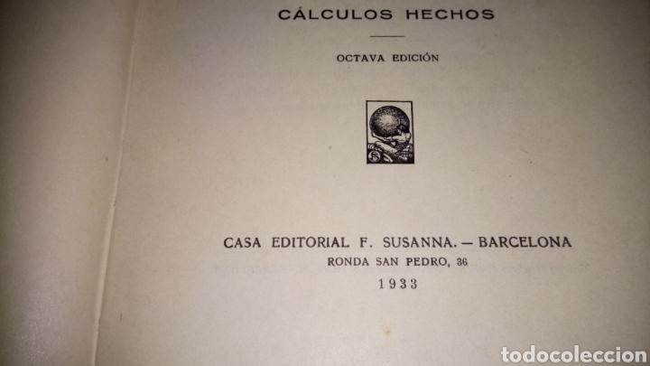 Libros antiguos: Los secretos de la industria cómo se cubican las maderas cálculos hechos del 1933 editorial f.Susana - Foto 5 - 95011658