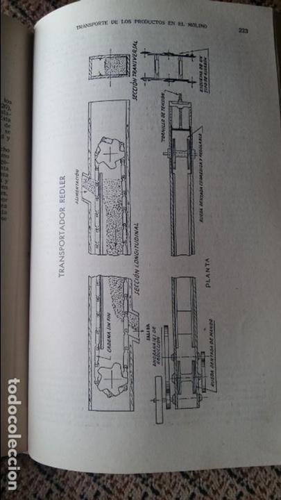 Libros antiguos: TECNOLOGIA DE LA MOLIENDA DE TRIGOS. LESLIE SMITH. 1936. CONTIENE DESPLEGABLE - Foto 2 - 95064967
