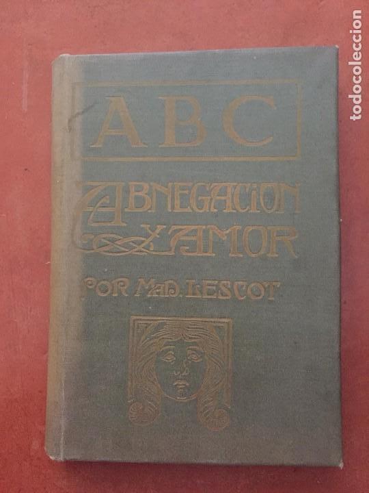 ABNEGACION Y AMOR (Libros Antiguos, Raros y Curiosos - Bellas artes, ocio y coleccionismo - Otros)