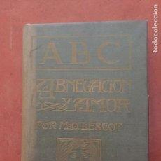 Libros antiguos: ABNEGACION Y AMOR. Lote 95065551