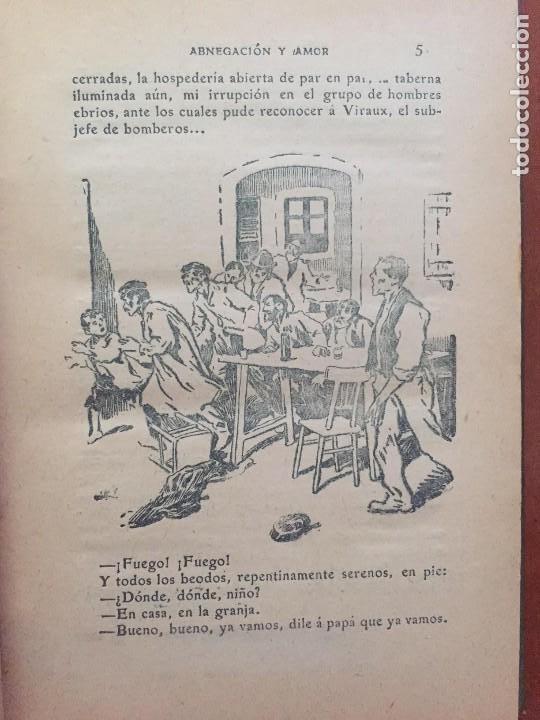 Libros antiguos: ABNEGACION Y AMOR - Foto 2 - 95065551