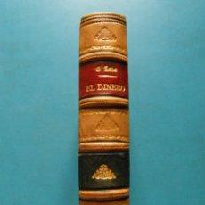 Libros antiguos: EL DINERO VERSION CASTELLANA DE JUAN GARCIA ALDEGUER TOMOS I. Y II EMILIO ZOLA 4ª ED.. Lote 95073983