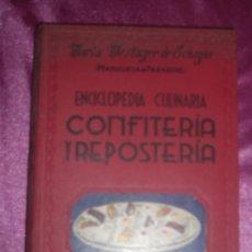 Libros antiguos: CONFITERÍA Y REPOSTERÍA. ENCICLOPEDIA CULINARIA DE MARÍA MESTAYER ECHAGÜE, MARQUESA DE PARABERE 195. Lote 95079255