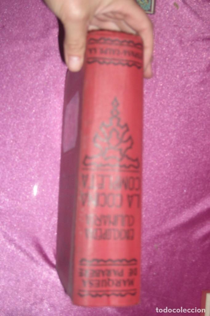 Libros antiguos: ENCICLOPEDIA CULINARIA - LA COCINA COMPLETA LA MARQUESA DE PARABERE 1955 - Foto 3 - 95079631