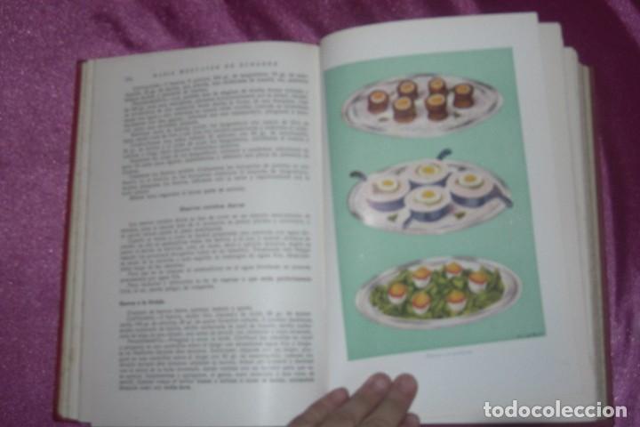 Libros antiguos: ENCICLOPEDIA CULINARIA - LA COCINA COMPLETA LA MARQUESA DE PARABERE 1955 - Foto 5 - 95079631