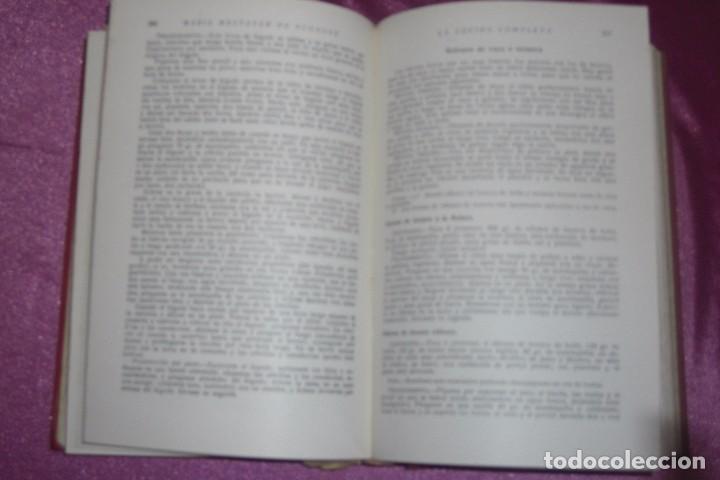 Libros antiguos: ENCICLOPEDIA CULINARIA - LA COCINA COMPLETA LA MARQUESA DE PARABERE 1955 - Foto 6 - 95079631