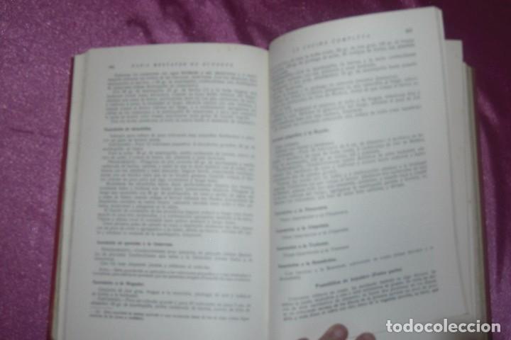 Libros antiguos: ENCICLOPEDIA CULINARIA - LA COCINA COMPLETA LA MARQUESA DE PARABERE 1955 - Foto 7 - 95079631