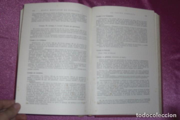 Libros antiguos: ENCICLOPEDIA CULINARIA - LA COCINA COMPLETA LA MARQUESA DE PARABERE 1955 - Foto 8 - 95079631