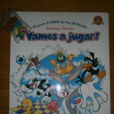 Libros antiguos: EL GRAN LIBRO DE LOS JUEGOS LOONEY TUNES ¡¡VAMOS A JUGAR¡¡ (NUEVO). Lote 95086531