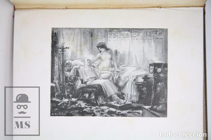 Libros antiguos: Antiguo Libro Ilustrado - En Roma. Escenas y cuadros por Andrés Mellado - Henrich y Cía, 1899 - Foto 3 - 95125327