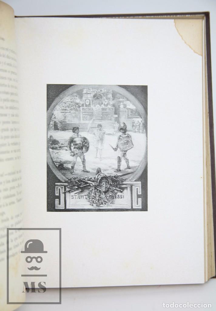 Libros antiguos: Antiguo Libro Ilustrado - En Roma. Escenas y cuadros por Andrés Mellado - Henrich y Cía, 1899 - Foto 7 - 95125327