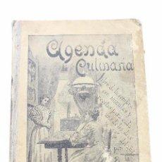 Libros antiguos: L- 4560. AGENDA CULINARIA, PARA 1904. DUQUESA LAURA.. Lote 95137823