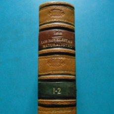 Libros antiguos: LOS NOVELISTAS NATURALISTAS. EMILIO ZOLA. 2 TOMOS EN 1 EJEMPLAR. LA ESPAÑA MODERNA. 1893. Lote 95172595
