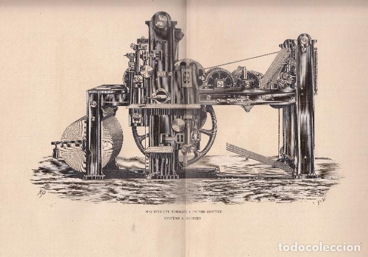 Libros antiguos: A. L. Monet. Les machines et appareils typographiques en France et a l'etranger. París, 1878. - Foto 2 - 95155035
