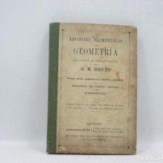 Libros antiguos: LIBRO - GEOMETRÍA APLICADA AL DIBUJO LINEA -1900 - TERCERA EDICION - G. M. BRUÑO. Lote 95258079