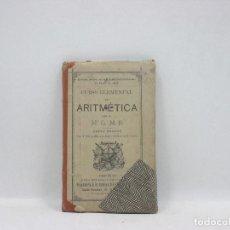 Libros antiguos: LIBRO - ARITMETICA -NUEVA EDICION - H.ºG.-M.B.. Lote 95259339