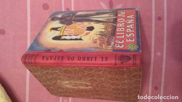 Libros antiguos: EL libro de españa - Foto 3 - 95278155