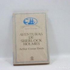 Libros antiguos: AVENTURAS DE SHERLOCK HOLMES - ARTHUR CONAN DOYLE - PLANETA. Lote 95390347