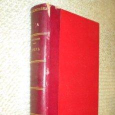 Libros antiguos: HAMPA, ANTROPOLOGÍA PICARESCA, POR RAFAEL SALILLAS, 1898. EL DELINCUENTE ESPAÑOL. Lote 95413507