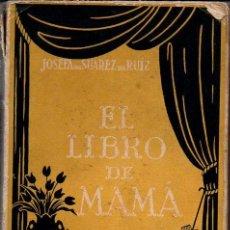Libros antiguos: JOSEFA DE SUÁREZ DE RUIZ : EL LIBRO DE MAMÁ - 532 RECETAS CASERAS (HORMIGA DE ORO, C. 1925). Lote 95471323