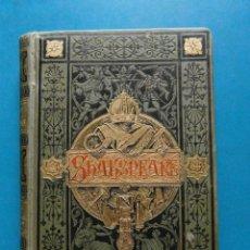 Libros antiguos: DRAMAS DE GUILLERMO SHAKSPEARE. JOSE ARNALDO MARQUEZ. 1883. Lote 95477567