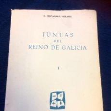 Libros antiguos: JUNTAS DEL REINO DE GALICIA, TOMOS I,II Y III, DE FERNANDEZ-VILLAMIL, INST. ESTUDIOS POLITICOS 1962. Lote 95488567