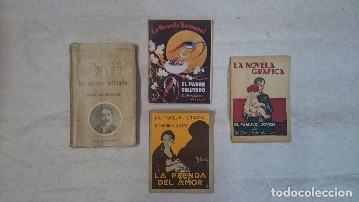 LOTE CANSINOS ASSENS (4 PUBLICACIONES) (Libros antiguos (hasta 1936), raros y curiosos - Literatura - Narrativa - Otros)