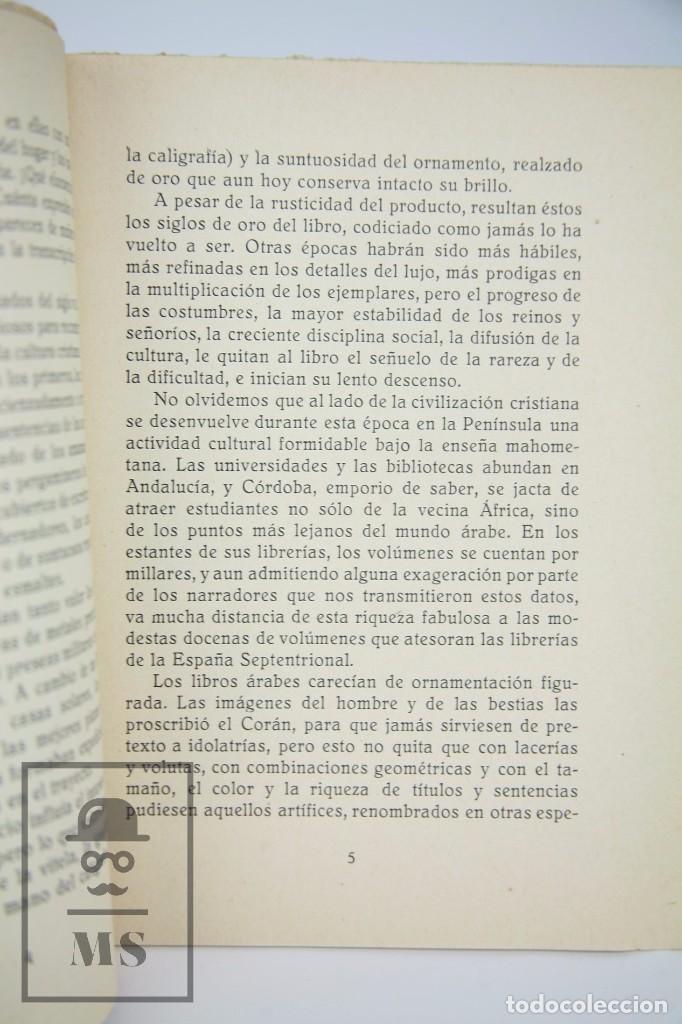 Libros antiguos: Antiguo Libro - El Libro Español. Víctor Oliva - Día del Libro, 1930 -Cámara Oficial Libro Barcelona - Foto 5 - 95537687