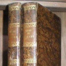 Libros antiguos: OBRAS COMPLETAS DE FIGARO (D. MARIANO JOSÉ DE LARRA) TOMOS I Y II. 1843. Lote 95544895