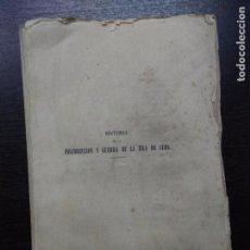 Libros antiguos: HISTORIA DE LA INSURRECCION Y GUERRA DE LA ISLA DE CUBA, LLOFRIU Y SAGRERA, ELUTERIO, 1870. Lote 95551663