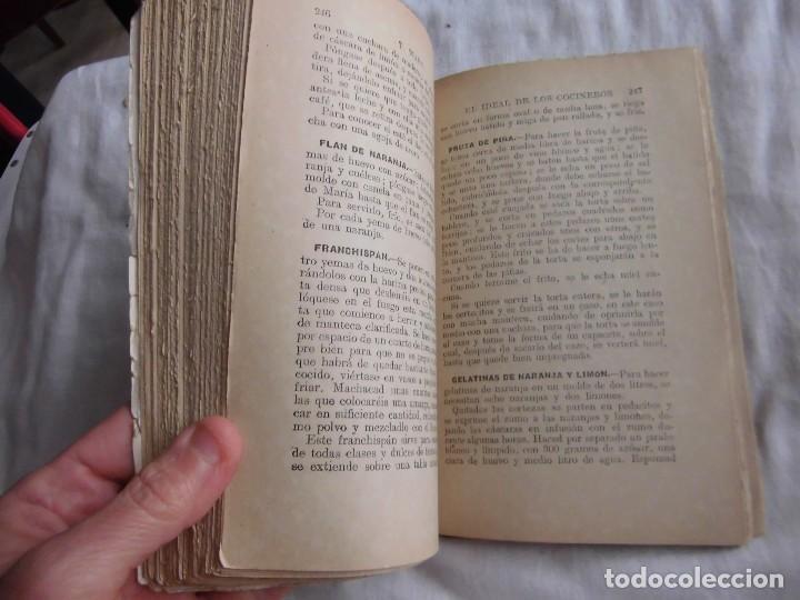 Libros antiguos: EL IDEAL DE LOS COCINEROS O SEA EL ARTE DE GUISAR Y COMER BIEN.T.WAPS.EDITORIAL SOPENA 1950 - Foto 4 - 95615959