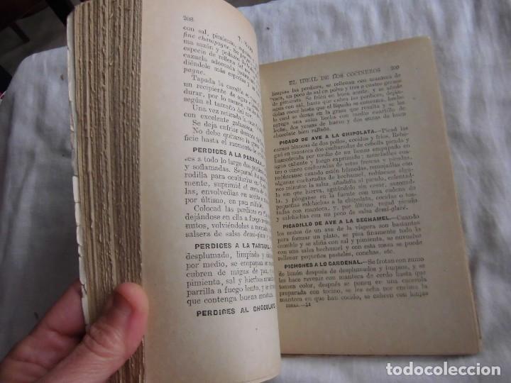 Libros antiguos: EL IDEAL DE LOS COCINEROS O SEA EL ARTE DE GUISAR Y COMER BIEN.T.WAPS.EDITORIAL SOPENA 1950 - Foto 5 - 95615959