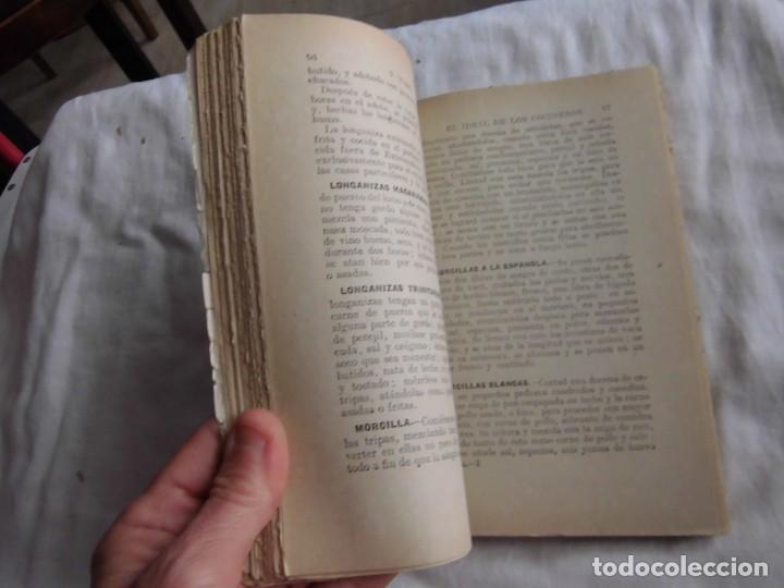 Libros antiguos: EL IDEAL DE LOS COCINEROS O SEA EL ARTE DE GUISAR Y COMER BIEN.T.WAPS.EDITORIAL SOPENA 1950 - Foto 6 - 95615959