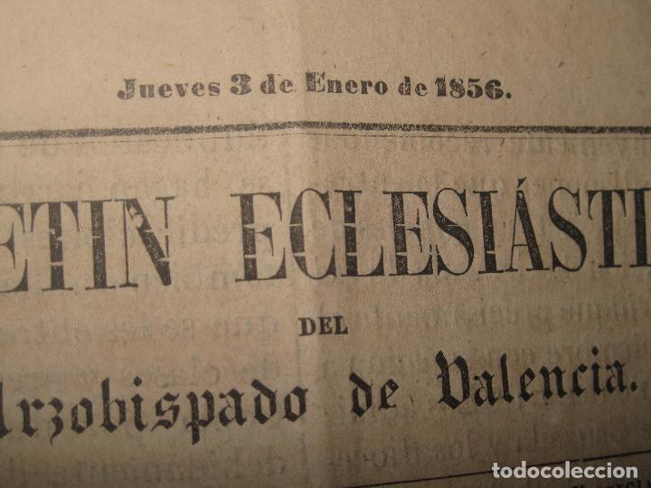 Libros antiguos: periodicos UN AÑO 1885 BOLETIN ECLESIASTICO ARZOISPO DE VALENCIA Siglo XIX MPRENTA EL VALENCIANO - Foto 15 - 78837001