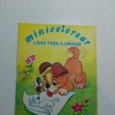 Libros antiguos: LIBRO PARA ILUMINAR. MINI COLOREAR. ENTRETENIMIENTO SADE C.V. MEXICO. Lote 95681103
