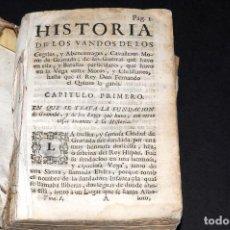 Libros antiguos: HISTORIA DE LOS VANDOS DE LOS CEGRIES, Y ABENCERRAGES, CAVALLEROS MOROS DE GRANADA. Lote 95878175