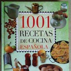Libros antiguos: 1001 RECETAS DE COCINA ESPAÑOLA. Lote 95897195