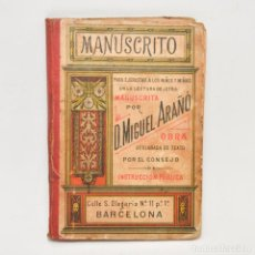 Libros antiguos: MANUSCRITO. Lote 95325992