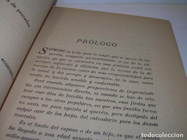 Libros antiguos: MIS MEJORES RECETAS DE PASTELERIA...AÑO 1.940 - Foto 2 - 95966531