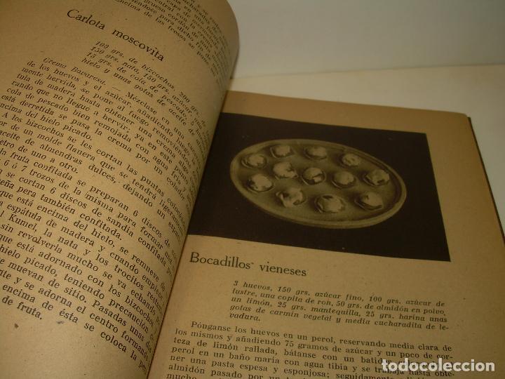 Libros antiguos: MIS MEJORES RECETAS DE PASTELERIA...AÑO 1.940 - Foto 4 - 95966531