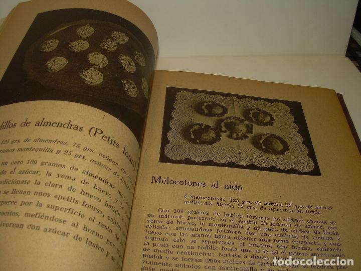 Libros antiguos: MIS MEJORES RECETAS DE PASTELERIA...AÑO 1.940 - Foto 5 - 95966531