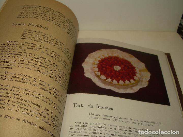 Libros antiguos: MIS MEJORES RECETAS DE PASTELERIA...AÑO 1.940 - Foto 6 - 95966531